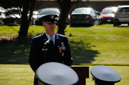 USAF Honor Guard, change of command