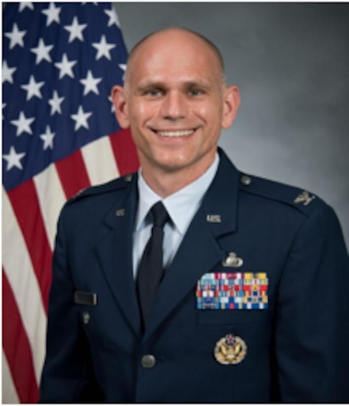 Official photo of Col. Joseph V. Schaefer Jr.