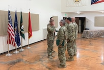 The Tactical Unmanned Aerial Vehicle Platoon, 19th Special Forces Group (Airborne), held a redeployment ceremony at the Aaron Butler Readiness Center, Camp Williams, Utah, June 23, 2021.