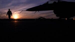 Airmen work during exercise Arctic Challenge 21