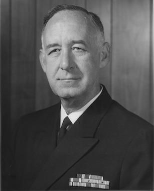 A portrait of VADM Joseph M. Lyle