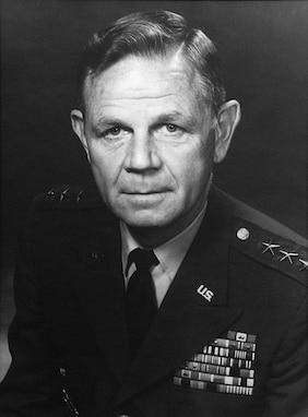 A portrait of LTG Woodrow W. Vaughan
