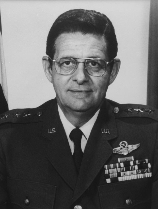 A portrait of Lt Gen Gerald J. Post