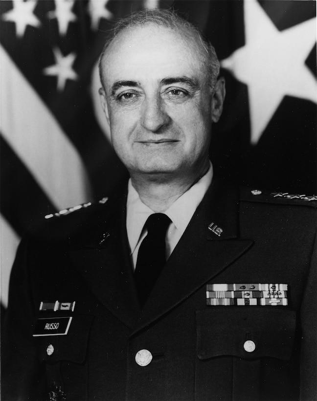 A portrait of LTG Vincent M. Russo