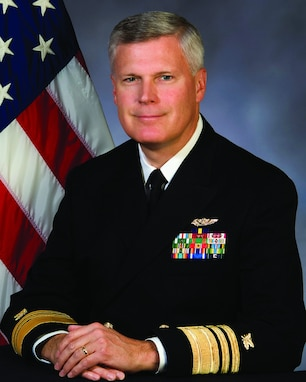 A portrait of VADM Alan S. Thompson