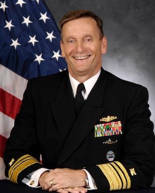 A portrait of VADM Mark D. Harnitchek