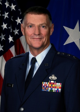 A portrait of Lt Gen Andrew E. Busch
