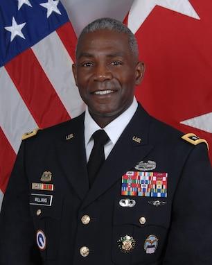 A portrait of LTG Darrell K. Williams