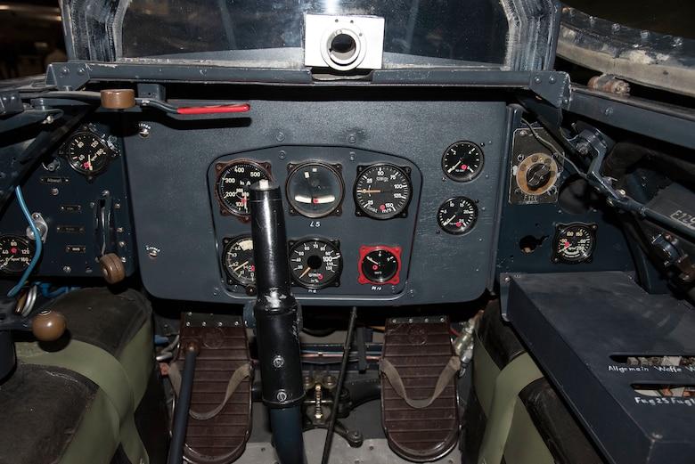 Messerschmitt Me 163B cockpit