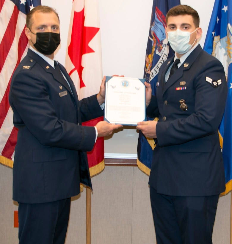 Cole promoted to senior airman