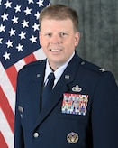 Official photo of Col. Kirk W. Peterson