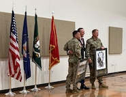 A retirement ceremony was held for Sgt. Maj. Jason R. Legler at the Aaron Butler Readiness Center, Camp Williams, Utah, June 23, 2021