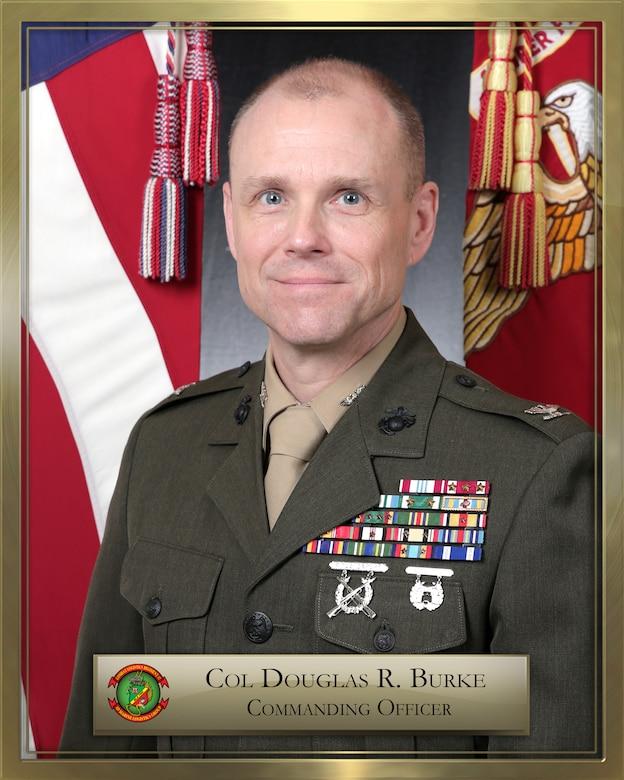 Colonel Douglas R. Burke official biography photo