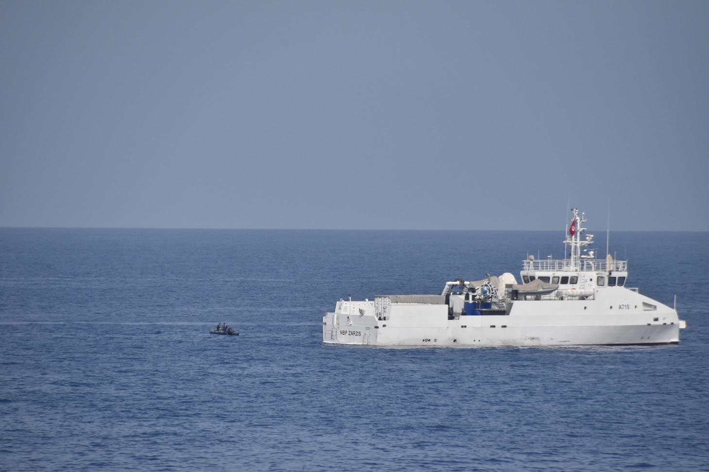 USNS Trenton Interoperability Exercise With Tunisia