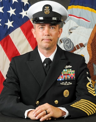 Command Master Chief Joe Reynolds