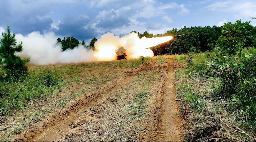 623rd FA live-fire at Fort Knox 2020