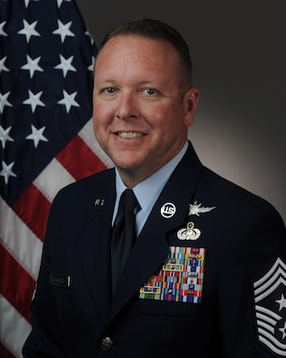 Command CMSgt. Andrew J. McKendree