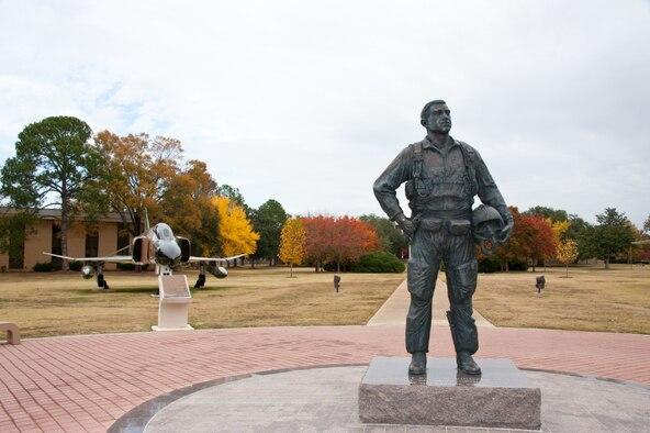 Pilot, Statue, Maxwell AFB