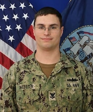 VIRGINIA BEACH, Va. (June 21, 2021) – Information Systems Technician 2nd Class Kristopher Webster, from California, currently serves as an instructor for the Journeyman Communications Course at Information Warfare Training Command Virginia Beach (U.S. Navy photo)