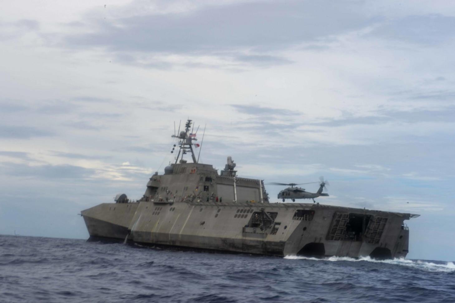 USS Tulsa (LCS 16) underway