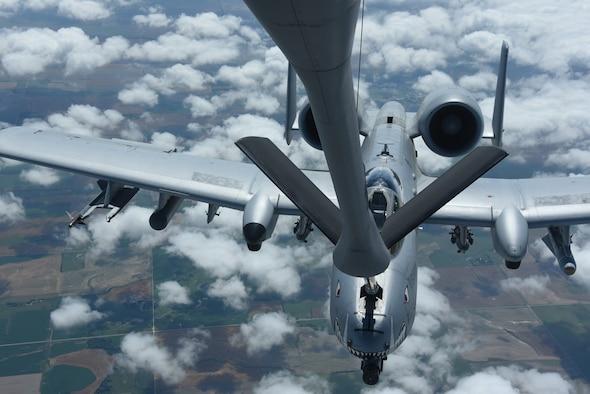 A-10 receiving fuel