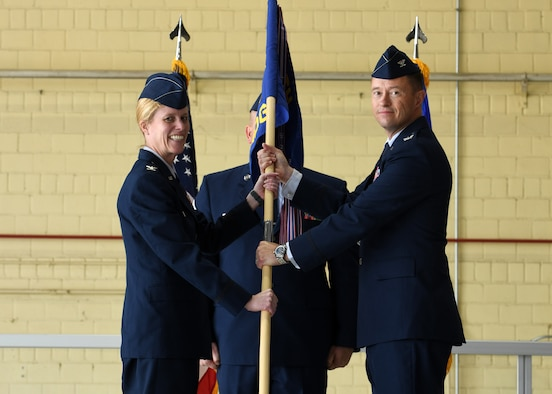 A photo to go with a 55 MDG change of command story.