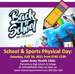 School & Sports Physical Day