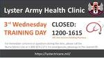 3rd Wednesday Training Day
