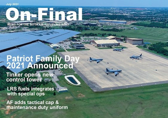 On Final cover