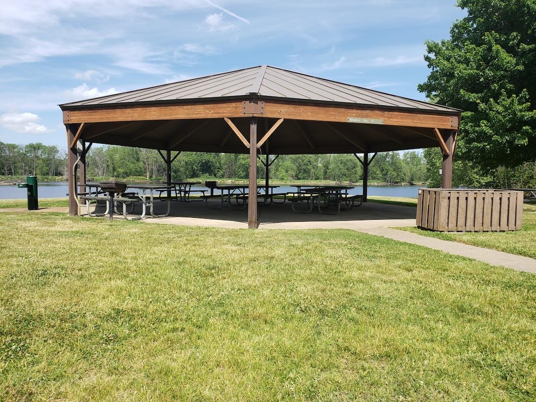 A picnic shelter