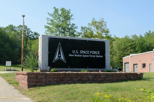 The New Boston Air Force Station, home to the 23d Space Operations Squadron, has been renamed to better reflect its role in the U.S. Space Force. Following a ceremony held July 12, 2021, it is now known as New Boston Space Force Station.