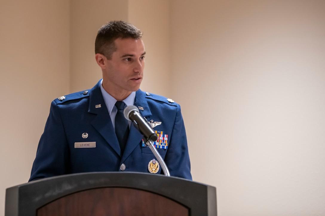 Lt Col. Levene