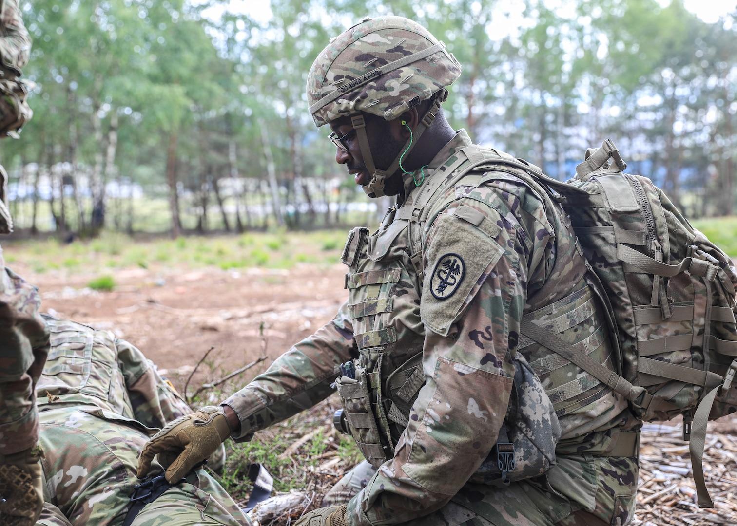 LRMC exercise highlights Military Medicine overseas