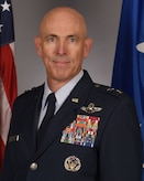 This is the official portrait of Maj. Gen. Clark J. Quinn.