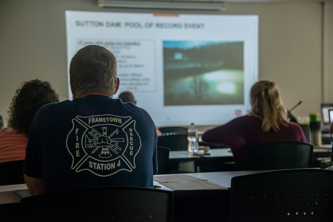 USACE conducts routine exercise at Sutton Dam