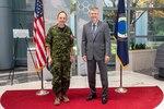 Deputy Commander of NORAD visits NRO headquarters
