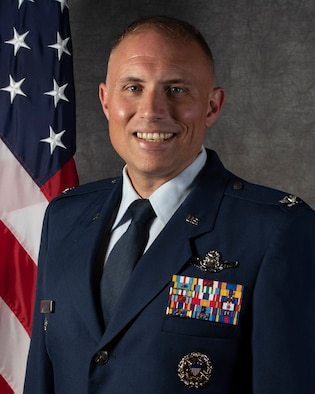 Colonel Michael D. Maginness, Vice Commander of the 5th Bomb Wing at Minot Air Force Base, North Dakota.