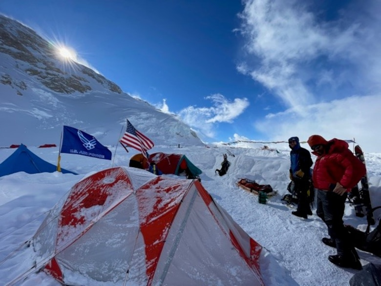 Denali mountaintop