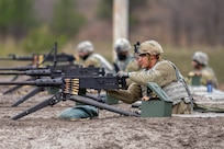 Soldiers complete weapons qualification for M2 and M240 machine guns at Fort McCoy, WI - Total Force Training Center