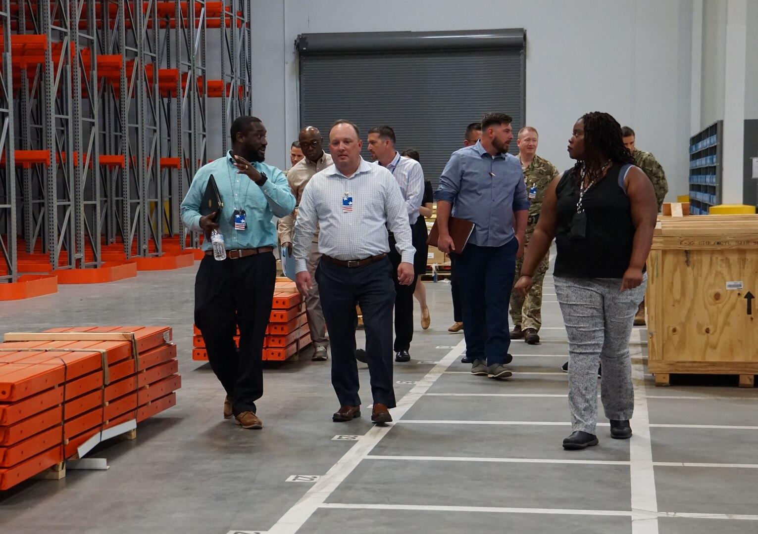 Defense Logistics Agency Distribution San Joaquin hosts F-35 Program Senior Leadership
