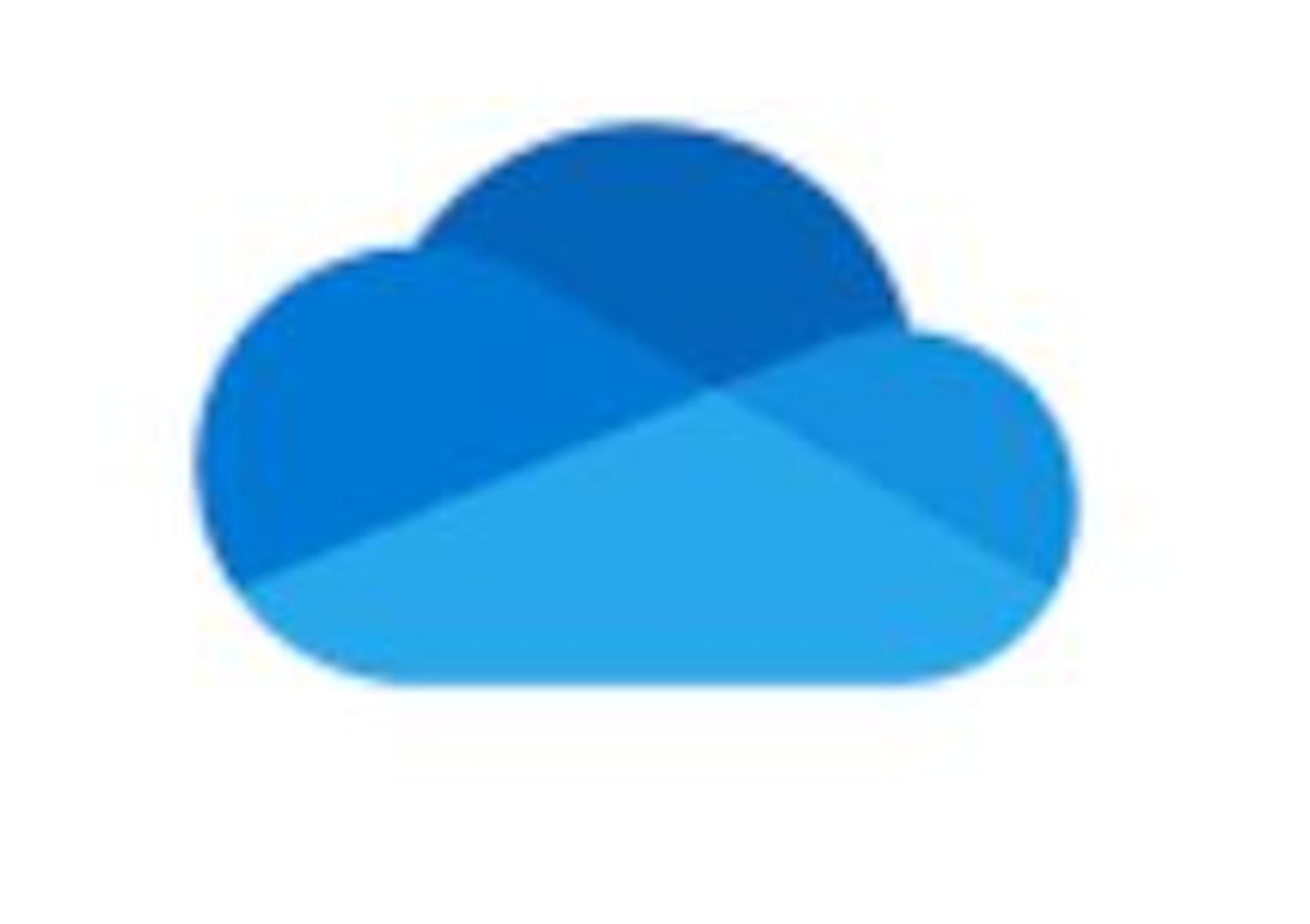 The Microsoft OneDrive logo