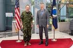RCAF L-Gen. Alain Pelletier visits the National Reconnaissance Office