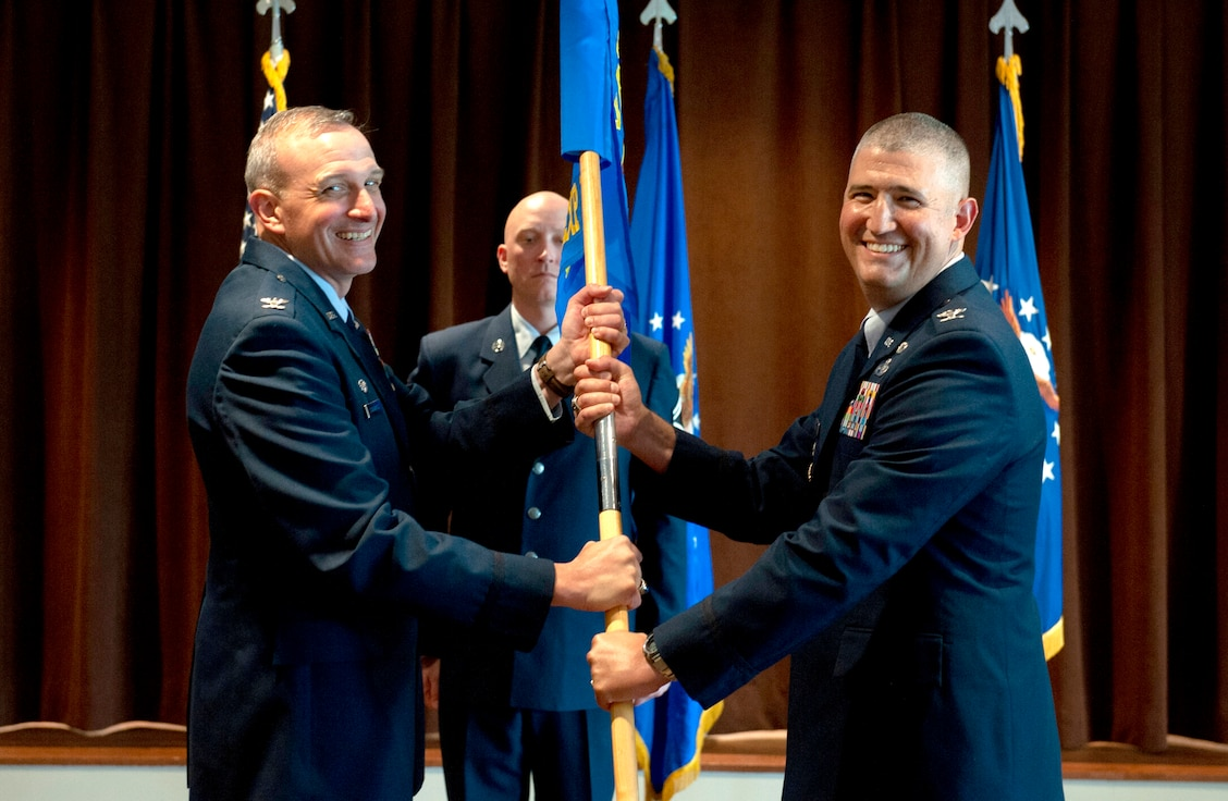 Col. Kenneth Stremmel takes command of the Global Exploitatio