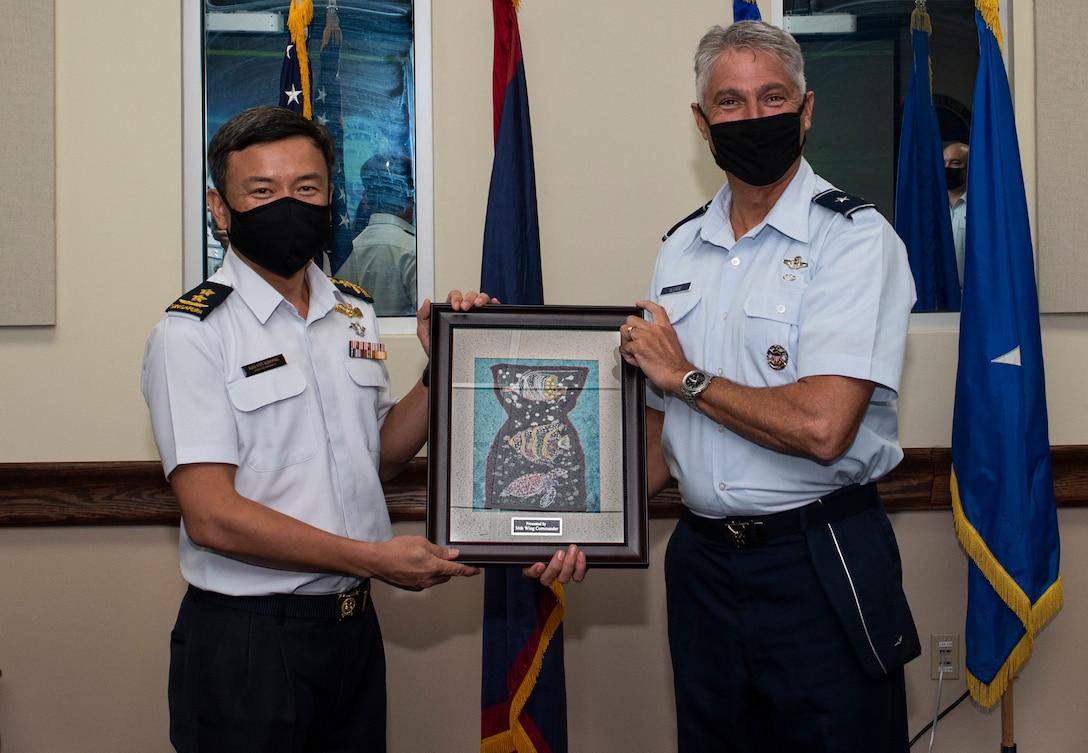 RSAF Air Force Chief visits Andersen AFB