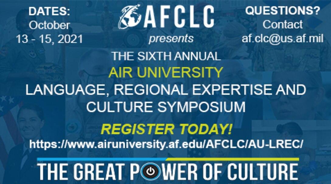Register for the 2021 AU LREC Symposium!