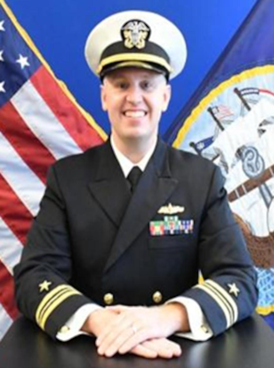 Lieutenant Commander Zachary B. Martens