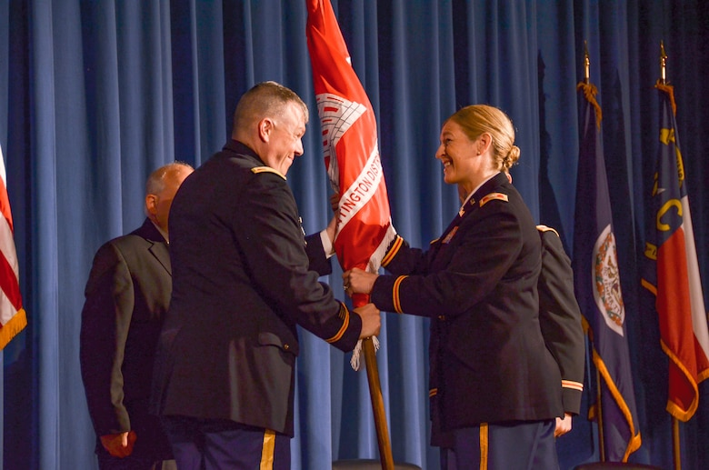 Huntington District Changes Command on July 15