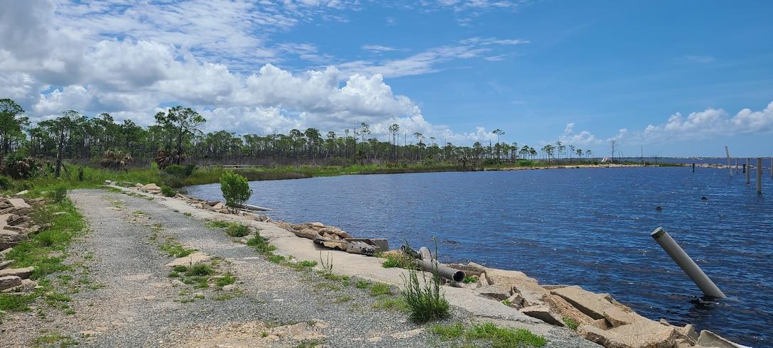 Photo of Tyndall AFB shoreline