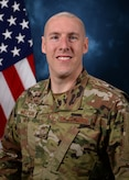 Official photo of Chief Master Sgt. Sean Milligan, 332nd Air Expeditionary Wing command chief.