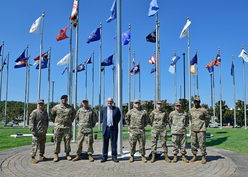 Acting SECAF thanks JBA Airmen during visit